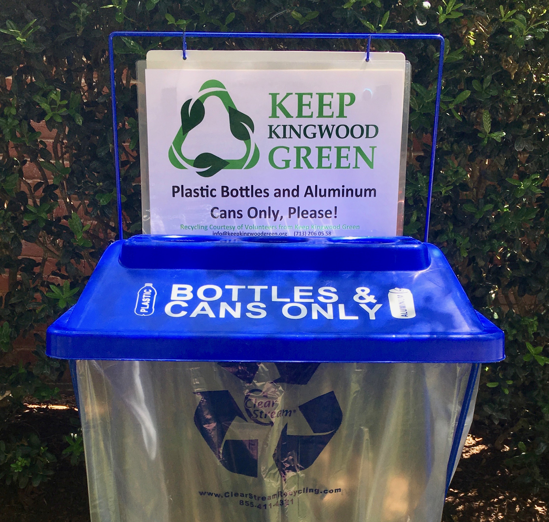 KKG Recycling Bins for your Event